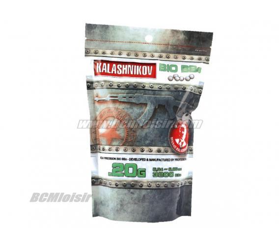 Billes Kalashnikov Bio Precision 0,20 gr sachet de 1 KG