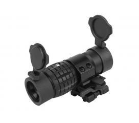 Lunette de visée 3X magnifier + fixation Basculante