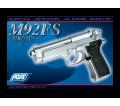 Beretta M92 FS Silver KWC Spring 0,6 J