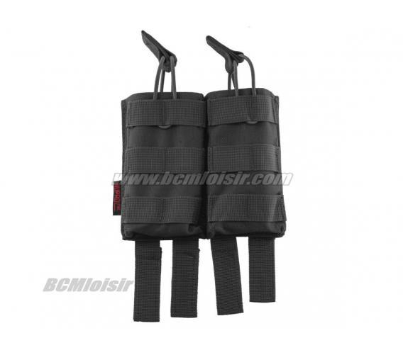 Pochette PMC Double Chargeur M4 Molle MP Noir