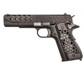 M1911 Hex Cut Full Metal Bck Custom GBB WE 0,9 J