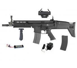 SCAR-L FN Herstal Full Metal Pack complet AEG