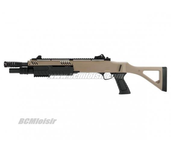 Fusil à Pompe 3 Shots Fabarm STF/12-11 Compact Spring 0,8 J
