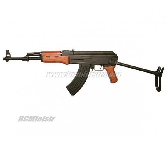 AK47S kalashnikov Full Metal crosse pliante AEG Pack Complet