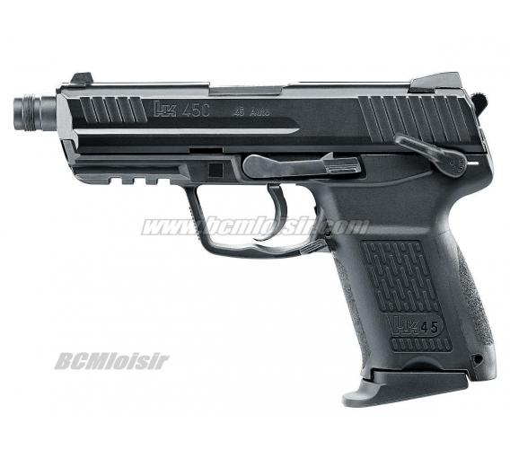 Heckler & Koch HK45CT Metal Slide Gaz Blowback VFC