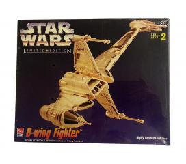 B Wing Fighter Star Wars Gold Edition Amt Ertl