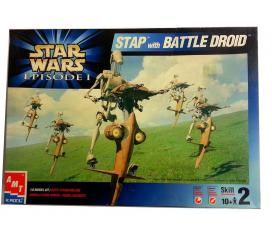 Stap Battle Droid Star Wars Limited Edition Amt Ertl