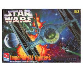 Imperial Tie Fighters Star Wars Limited Edition Amt Ertl