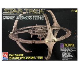 Station Deep Space Nine Fibre Optique Star Trek Amt Ertl