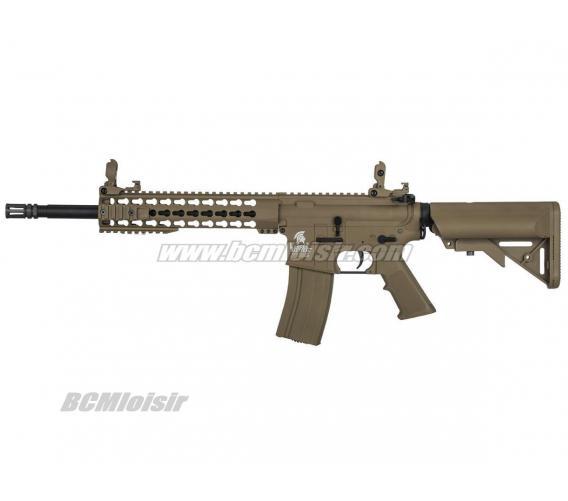 M4 Keymod 10' LT19 Gen 2 Tan Lancer Tactical AEG Pack Complet