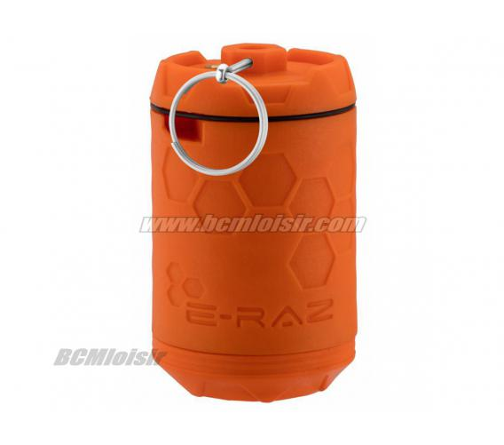 Grenade Impact E Raz Rotative Orange à Gaz 100 Billes