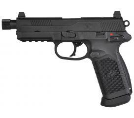 FNX 45 ACP Tactical FN Herstal Noir Gaz Blowback VFC