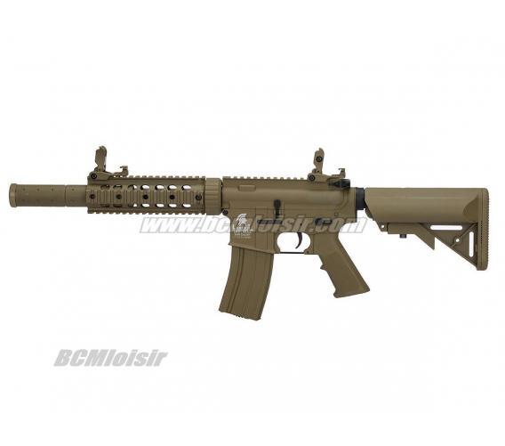 M4 Carbine LT15 Gen 2 Silencer RIS AEG Pack Complet Tan