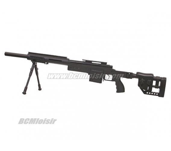 Sniper MSR SAS 10 Spring Swiss Arms avec Bipied 1,9 J