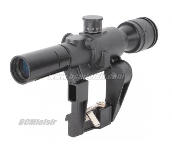 Lunette dragunov SVD 4X26 Full Metal Swiss Arms