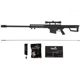 Sniper LT 20 Barrett M82 Spring avec Lunette 3-9X40