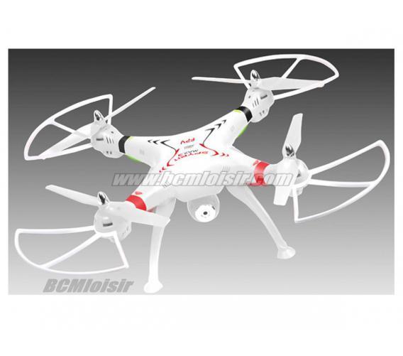 Quadrocoptère Spyrit Max 3 FPV Caméra HD RTF