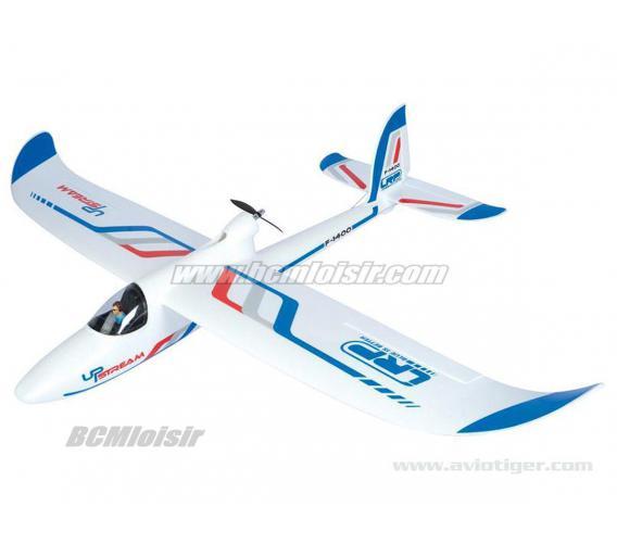Motoplaneur Upstream F 1400 Brushless 2,4 Ghz RTF