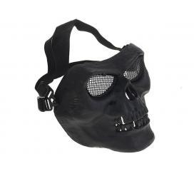 Masque Skull grillagé Noir Norme EN 1731 / 2006