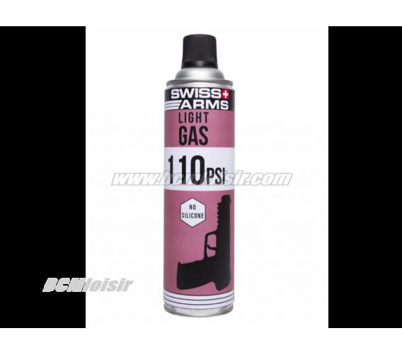 Gaz Swiss Arms 600 ml 110 PSI No Silicone