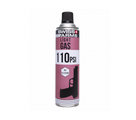 Gaz Swiss Arms 600 ml 110 PSI No Silicone