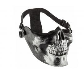 Bas de Masque Squelette Noir