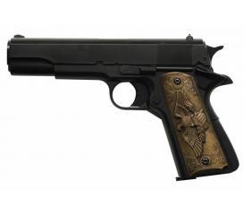 Replique Colt 1911 Eagle Noir GNB Gaz 1 Joule