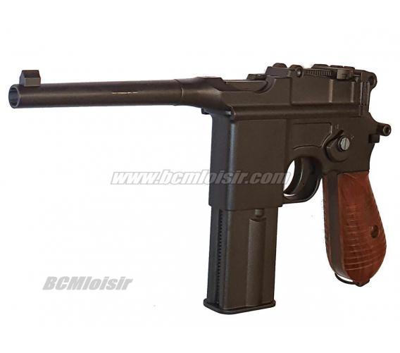 C96 Mauser Mod 712 Full Metal Blowback Full Auto CO2