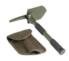 Pelle Compact Pliable Olive avec étui