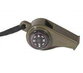 Sifflet PVC avec Boussole et Thermometre