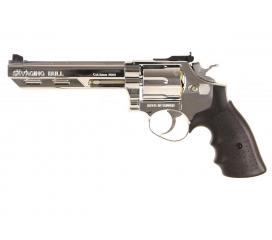 Revolver 357 Magnum Chrome GNB Gaz 1 Joule
