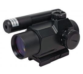 Point Rouge 1X30 Laser intégré reticule lumineux