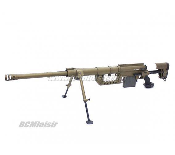 Sniper Cheytac M200 Tan Spring Aluminium et Fibre en Mallette ABS