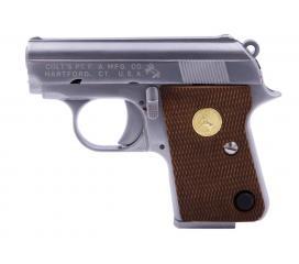Colt 25 Silver Full Metal Gaz Blowback WE