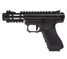 G Series Galaxy APP Pistol Metal Slide Black GBB WE