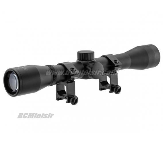 Lunette de visee 4x32 Tactical Series RTI + fixations