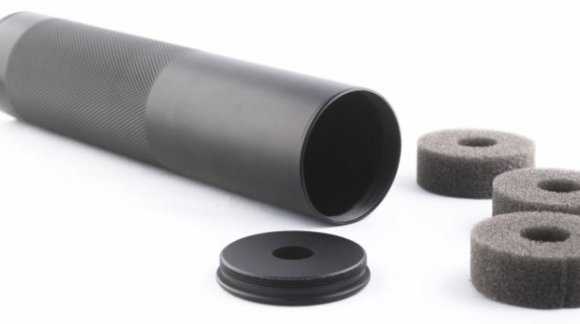 Silencieux Universel 200x45 mm 14mm Filetage Antihoraire
